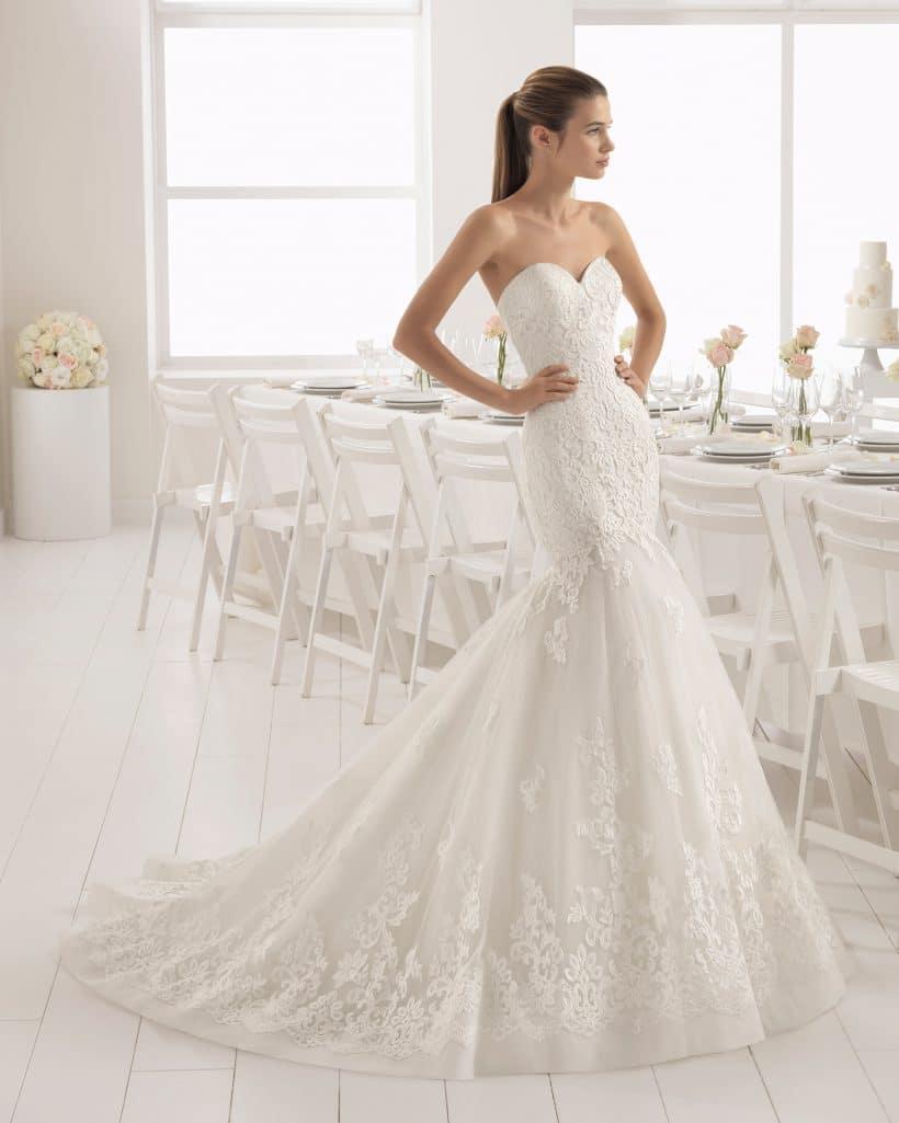 ab2869a483691 Baquio Wedding Dress Aire Barcelona Collection 2018