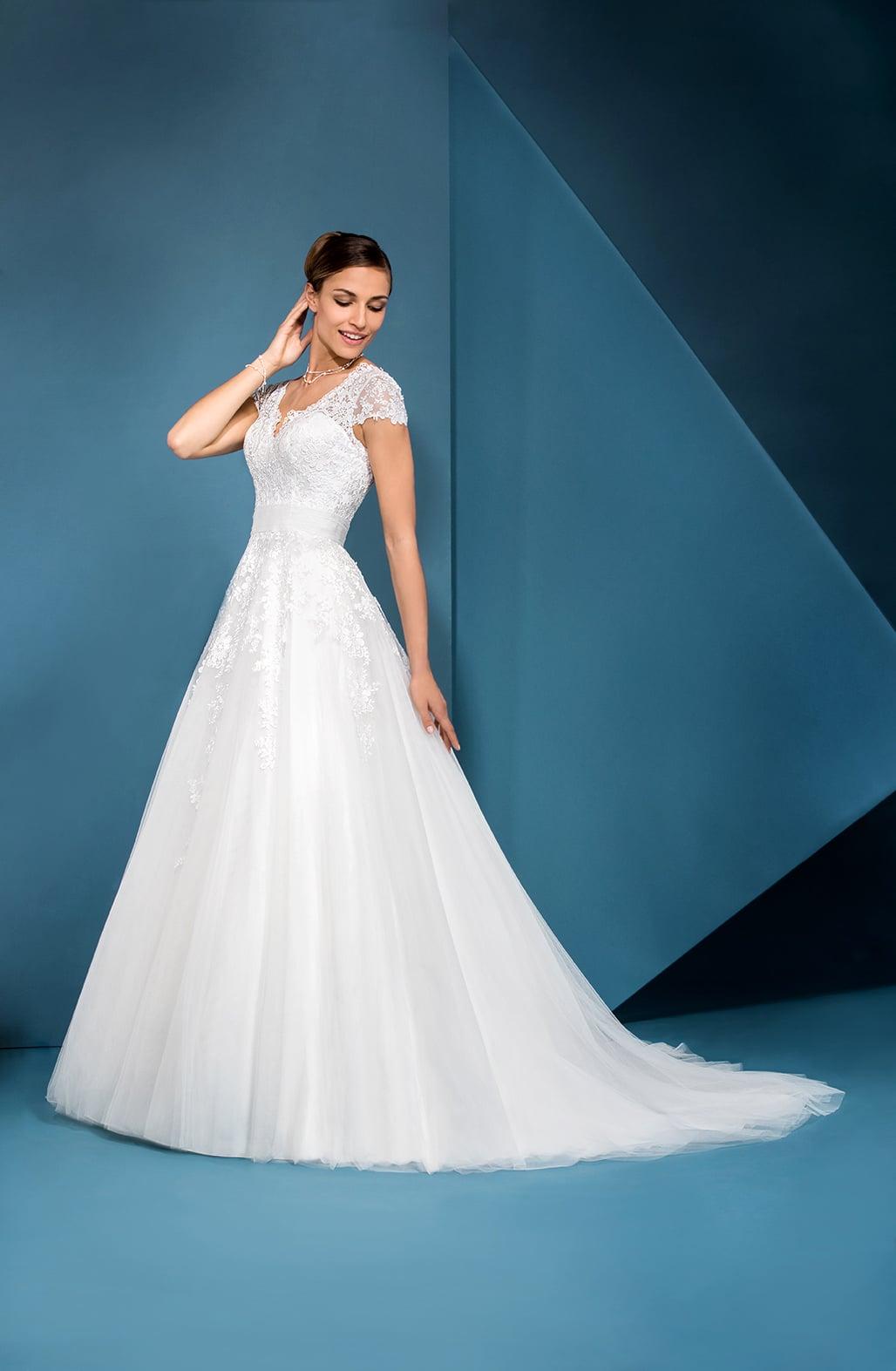 Dame Wedding Dress Eglantine Creations Boutique Paris