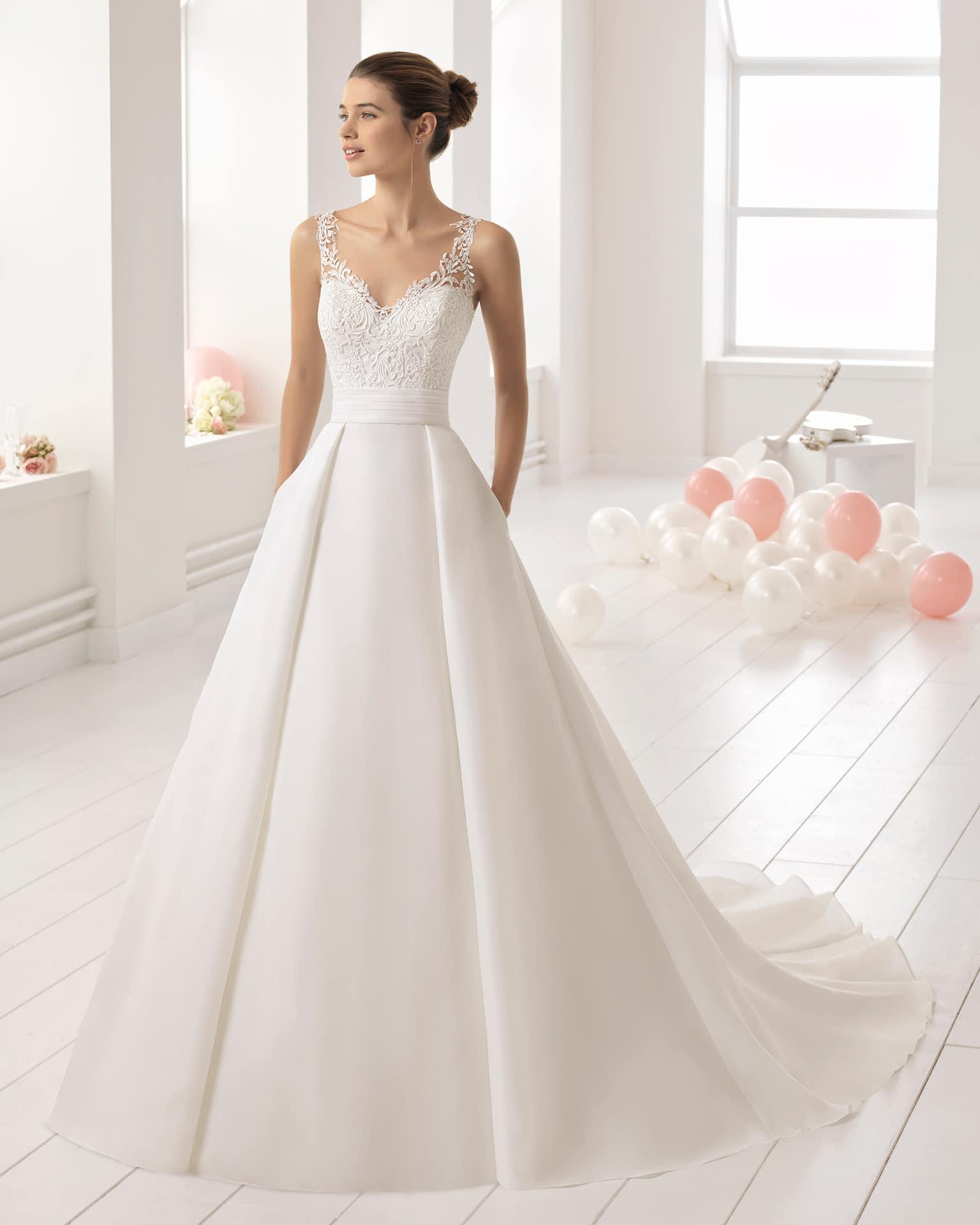Wedding Dress Bitacora Aire Barcelona Collection 2018