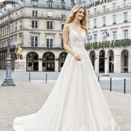 Robe de Mariée EXITO Aire Barcelona Collection 2019 Paris