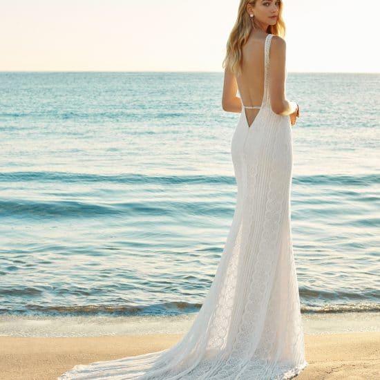 Robe de Mariée GAURA Aire Beach Wedding Collection 2019