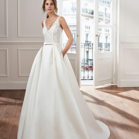 Robe de mariee classique 2019