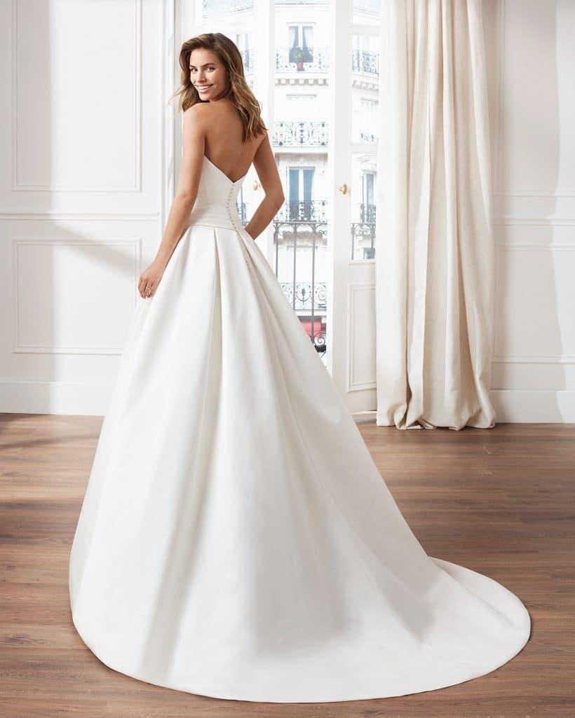 Robe de mariée VOLANT lunanovias collection