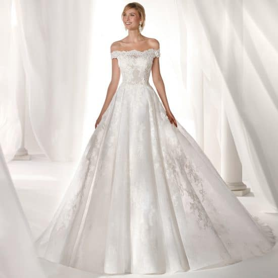 Robe de Mariée Nicole NIAB19102 collection 2019