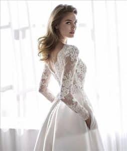 Robe De Mariee Manches Longues Collection 2021 Boutique Paris