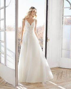 robe de mariée coupe A