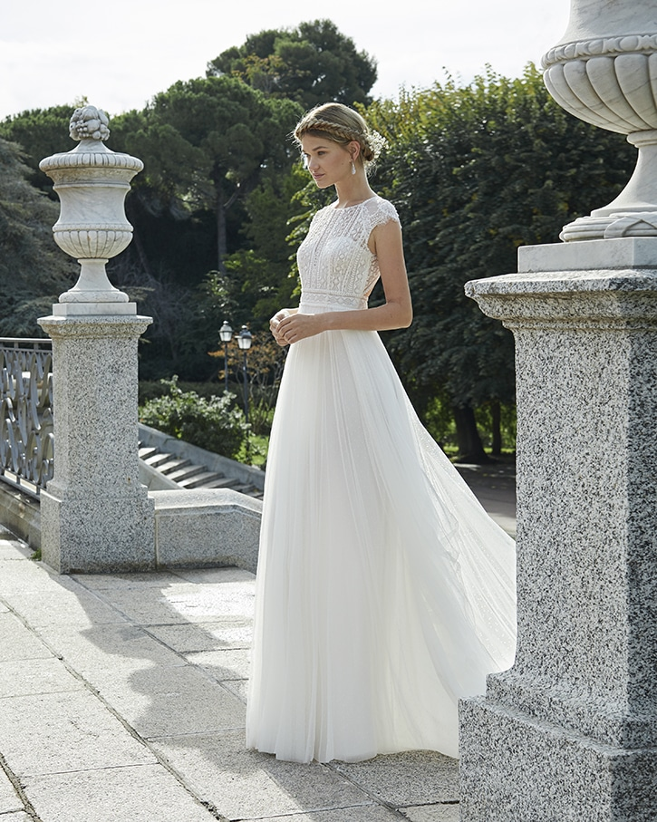 Nafta Wedding Dress Aire Beach Collection 2020
