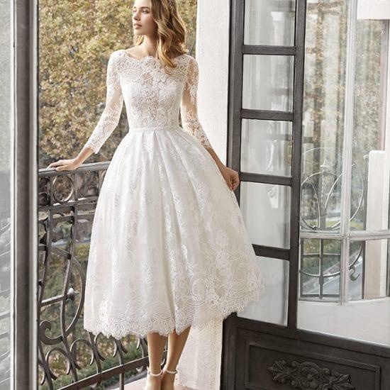 Robe de mariée courte collection 2020| Boutique