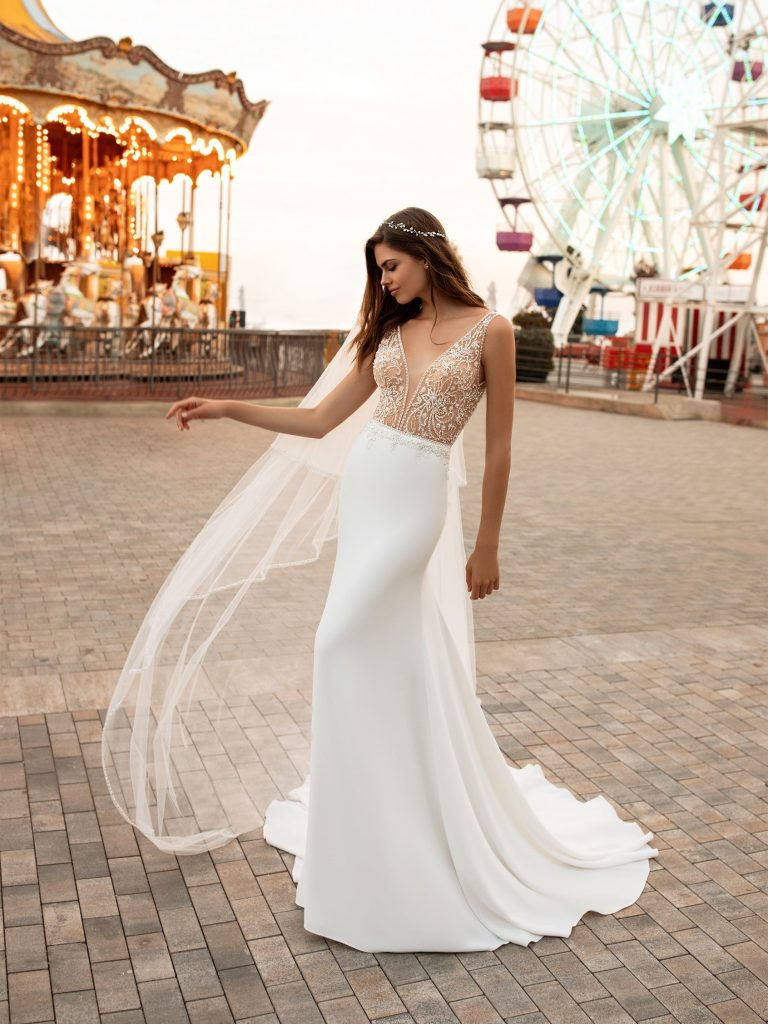 KYLIE Wedding Dress White One Collection 2020 Paris Boutique