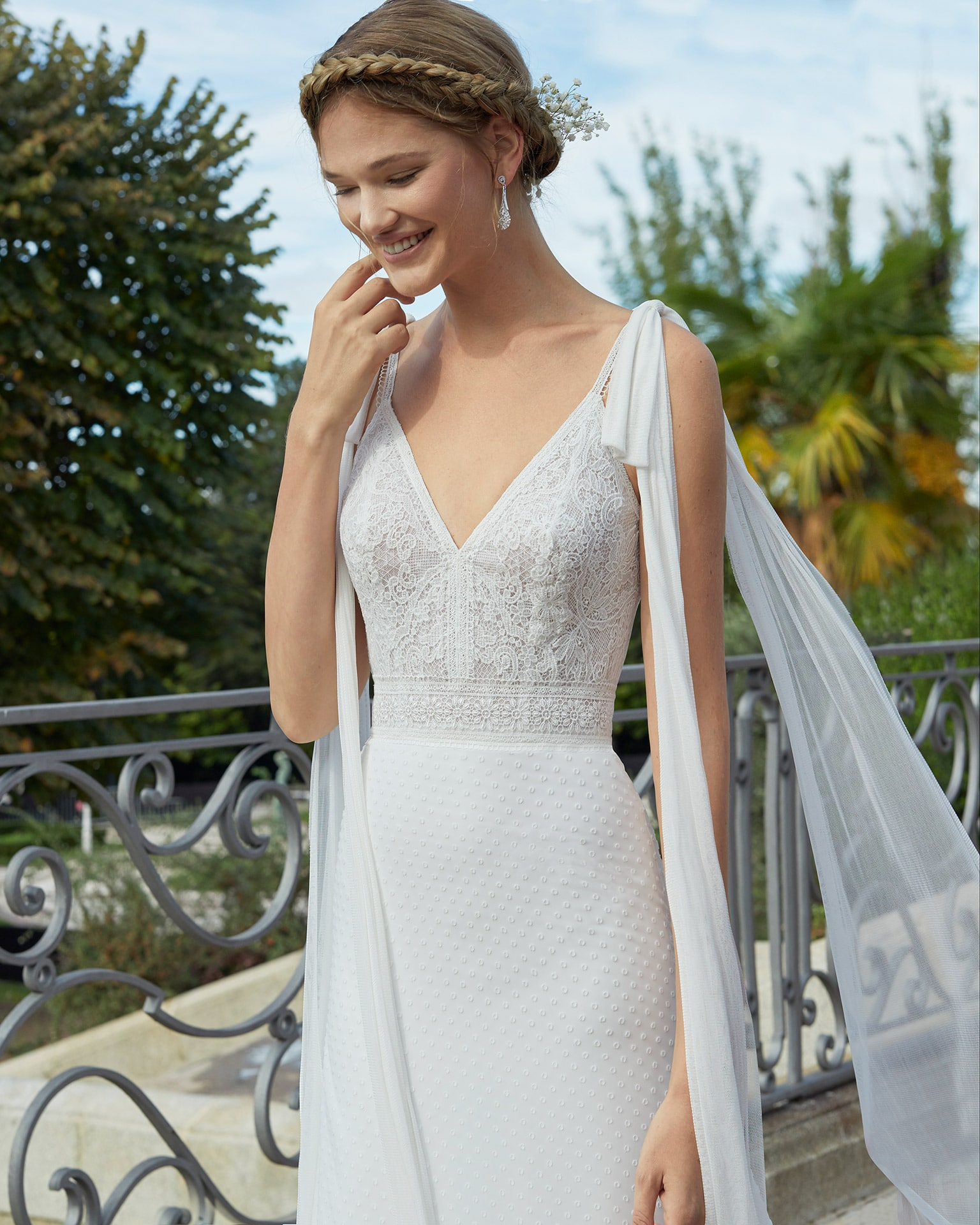 Nagold Wedding Dress Aire Beach Collection 2020