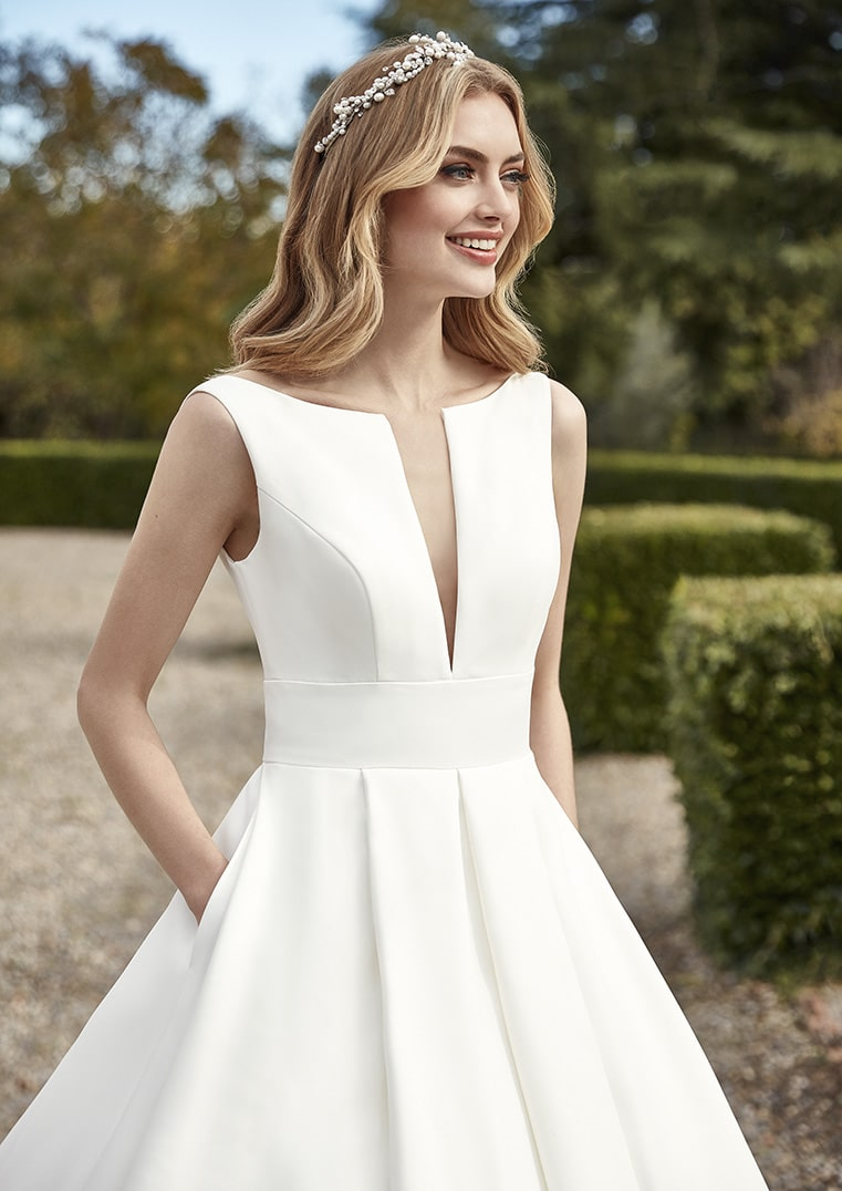 Robe de mariée HALIOTIS: San Patrick collection 2021 ...
